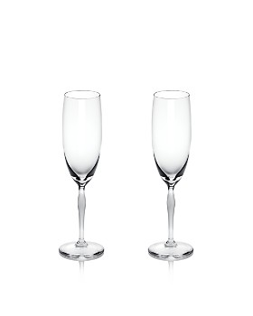 Lalique - 100 Points Champagne Flute, Set of 2