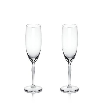 Lalique - 100 Points Champagne Flute, Set of 2
