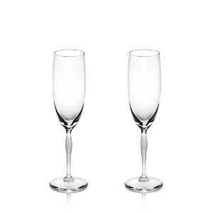 Lalique 100 Points Champagne Flute, Set of 2