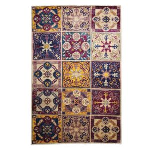 Suzani Collection Oriental Rug, 5'3 x 8'1