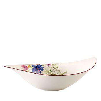 "Villeroy & Boch - Mariefleur Salad Bowl, 17.75"""