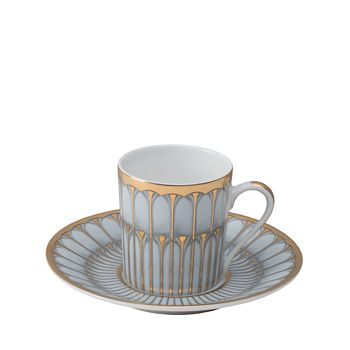 Philippe Deshoulieres - Arcades Green Coffee Saucer