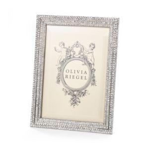 Olivia Riegel Crystal Pave Frame, 5 x 7