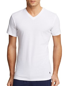 Polo Ralph Lauren Slim Fit V-Neck Tee, Pack of 3 - Bloomingdale's_0