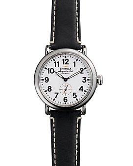 Shinola - The Runwell Black Strap Watch, 41mm