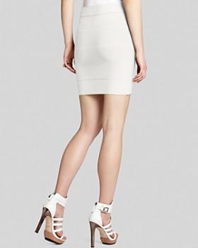 BCBGMAXAZRIA - Simone Textured Power Skirt