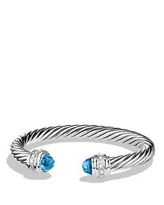 David Yurman Cable Classics Bracelet with Gemstone and Diamonds - Bloomingdale's_0