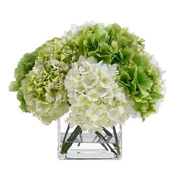 BLOOMS by Diane James - Diane James Green & White Hydrangea Bouquet