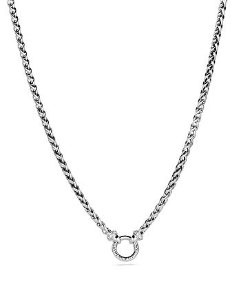 David Yurman - Wheat Chain Necklace with Diamonds