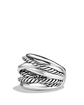David Yurman - Crossover Wide Ring