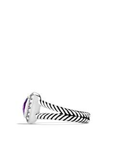David Yurman - Petite Albion Ring with Amethyst & Diamonds