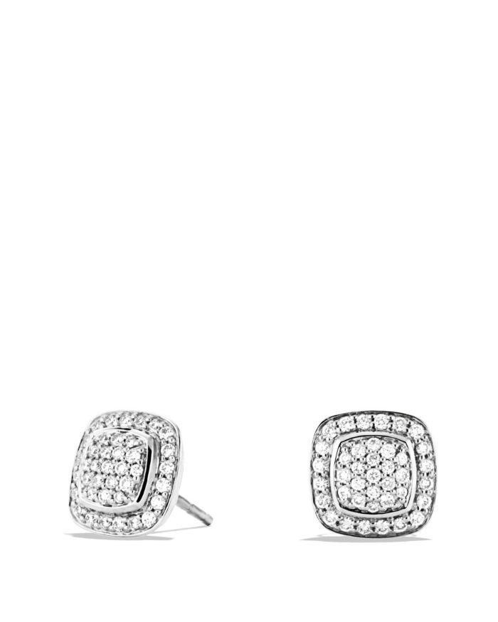David Yurman Albion Mini Earrings with Diamonds    Bloomingdale's