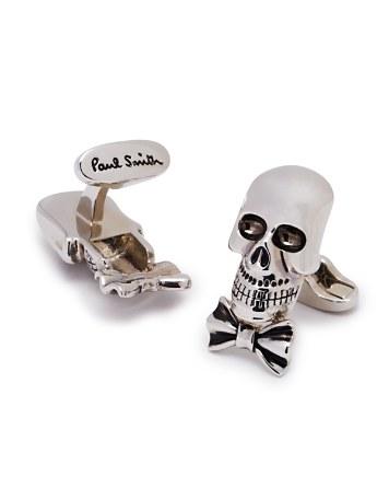 $Paul Smith Bowtie Skull Cufflinks - Bloomingdale's
