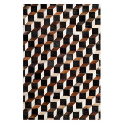 "Studio Leather Collection Runner Rug, 2'3"" x 7'"