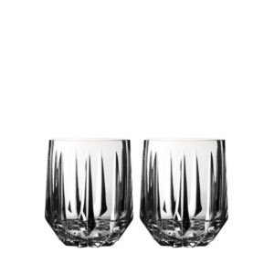 Vera Wang Wedgwood Peplum Double Old-Fashioned Glass, Set of 2