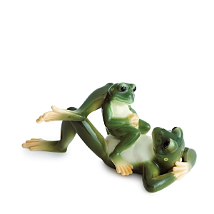 Franz Collection Amphibia Frog Father & Son Figurine