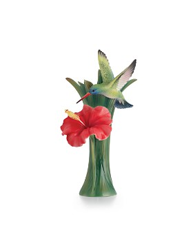 Franz Collection - Hummingbird Small Vase