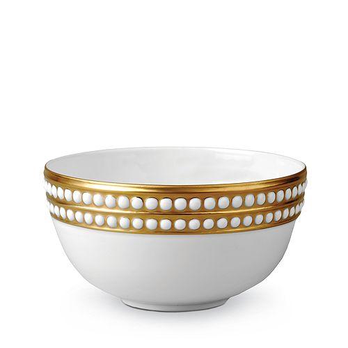 L'Objet - Perlee Gold Soup Bowl