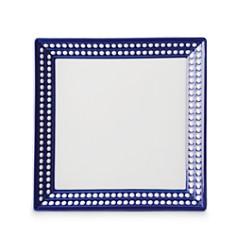 "L'Objet - Perlee Bleu 8"" Square Tray"