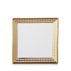 """L'Objet - Perlee Gold 8"""" Square Tray"""