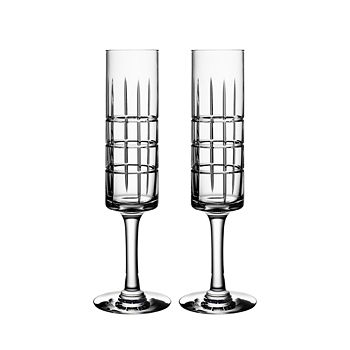 Orrefors - Street Specialty Drinkware by Jan Johansson Champagne Glass, Set of 2