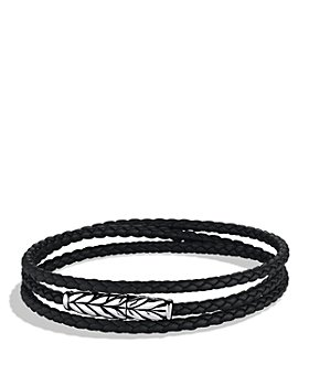 David Yurman - Chevron Triple Wrap Bracelet