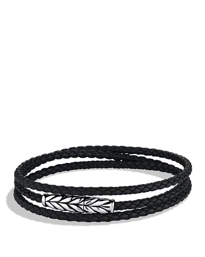 David Yurman - Chevron Triple Wrap Bracelet