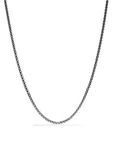 David Yurman - Medium Box Chain, 22""