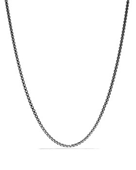 David Yurman - Medium Box Chain 3.6mm, 24""