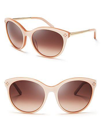 Chloé - Women's Boxwood Rounded Cat Eye Sunglasses