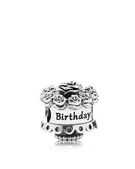 Pandora - Sterling Silver Happy Birthday Charm