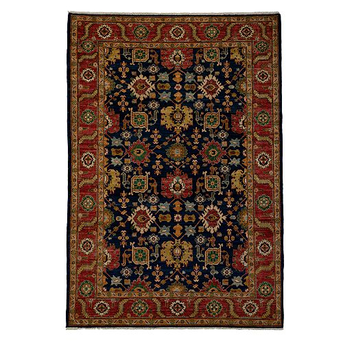 """Bloomingdale's - Adina Collection Oriental Rug, 6'1"""" x 9'"""