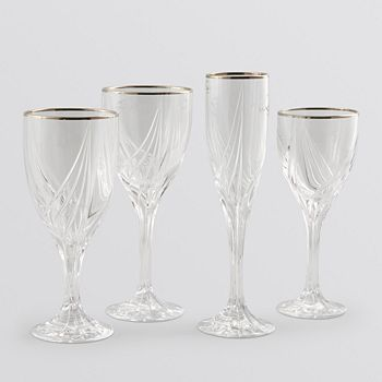 Lenox - Debut Platinum Glassware Collection