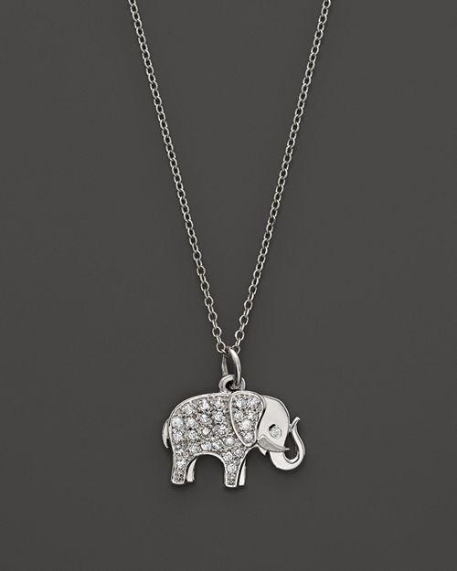 Kc designs diamond elephant pendant in 14k white gold 16 kc designs diamond elephant pendant in 14k white gold aloadofball Choice Image