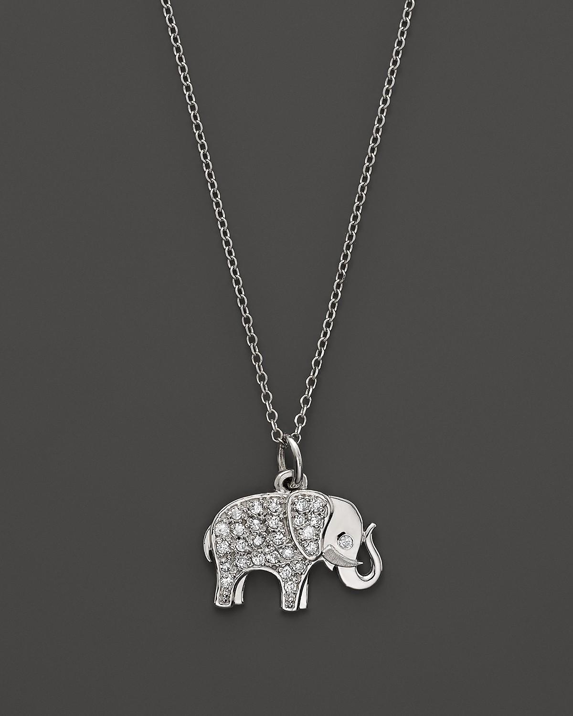 Kc designs diamond elephant pendant in 14k white gold 16 pdpimgshortdescription aloadofball Images