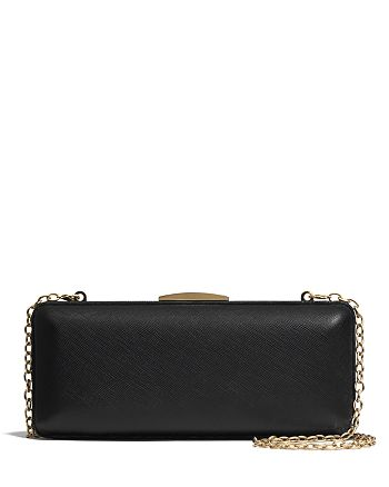 COACH - Miniaudiere in Saffiano Leather