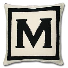 """Jonathan Adler - Jonathan Adler Letter Pillow, 16"""" x 16"""""""