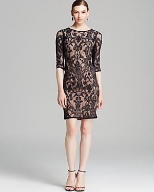 Adrianna Papell Dress - Deco Lace Sheath
