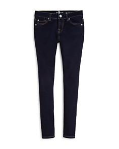 7 For All Mankind - Girls' Dark Indigo Skinny Jeans - Big Kid