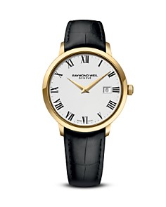 Raymond Weil Toccata Stainless Steel and Gold PVD Watch, 39mm - Bloomingdale's_0