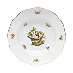 Herend - Rothschild Bird Rimmed Soup Bowl, Motif #2