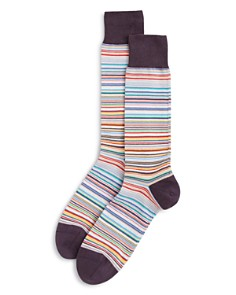 Paul Smith Multistripe Socks - Bloomingdale's_0