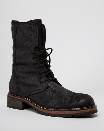 John Varvatos Star USA - Men's Gibbons Open Lace-Up Boots