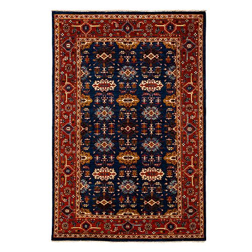 "Bloomingdale's - Adina Collection Oriental Rug, 6'1"" x 9'2"""
