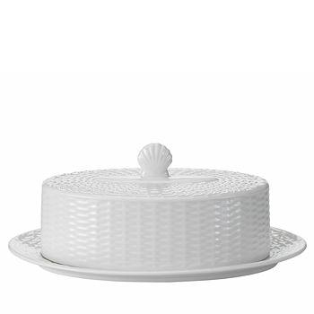 Wedgwood - Nantucket Basket Covered Butter