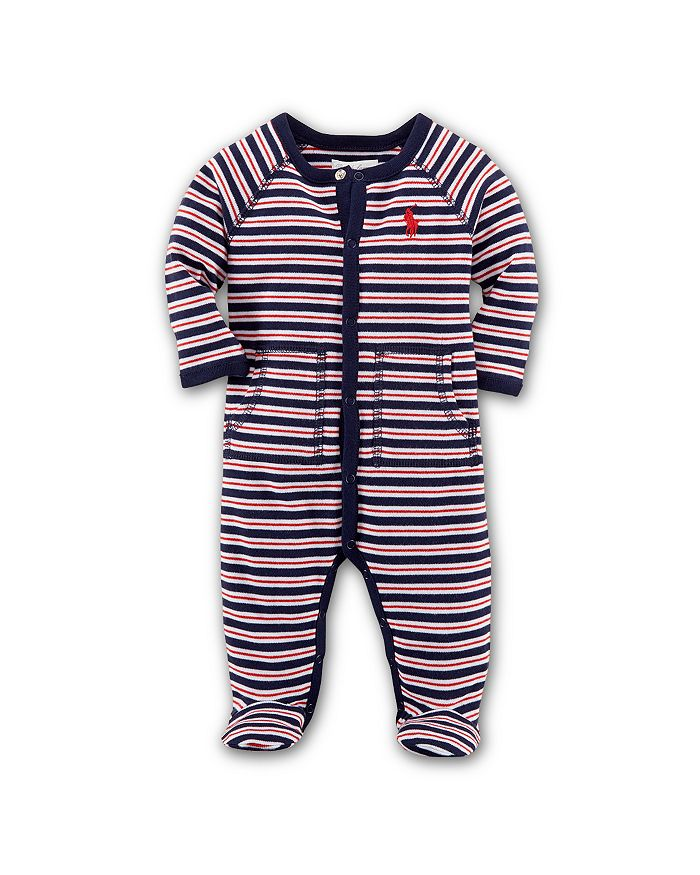 Ralph Lauren - Boys' Interlock Striped Footie - Baby