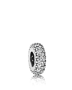 PANDORA Spacer - Sterling Silver, Cubic Zirconia & Corundum Inspiration Within, Moments Collection - Bloomingdale's_0