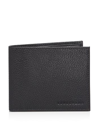 Longchamp Le Foulonné Bifold Wallet with Coin Pouch | Bloomingdale's