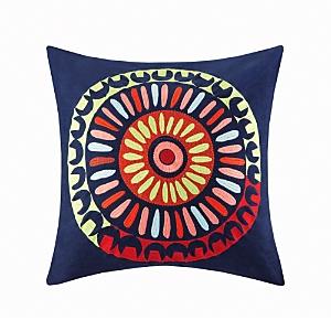 Josie Hollywood Boho Square Pillow, 20 x 20