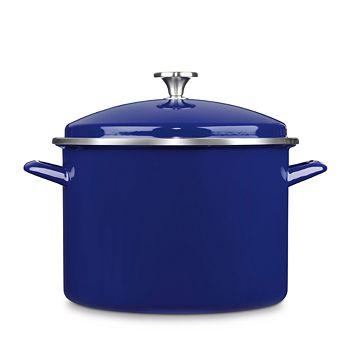 Cuisinart - 10-Quart Enameled Stainless Steel Stock Pot
